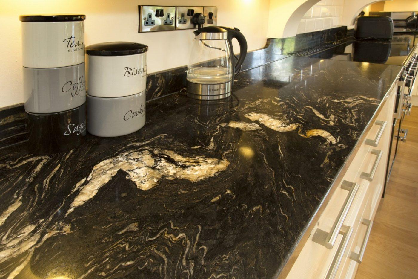 Titanium Granite Kitchen Devon Kitchen Worktop Projects In Granite And Caesarstone Part 2