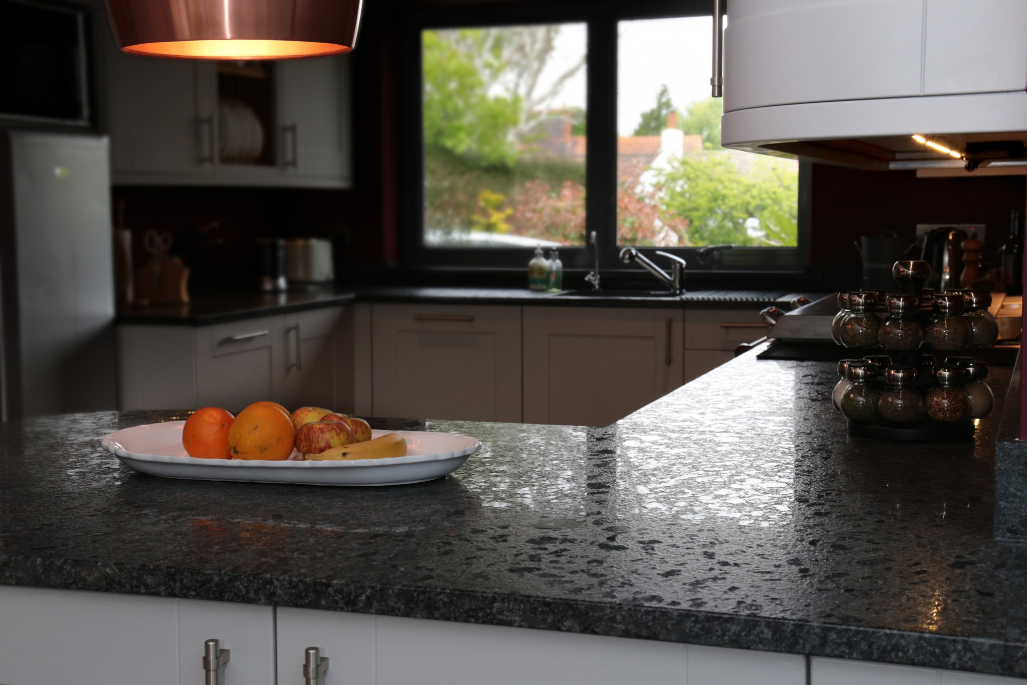 Devon Kitchen Worktop Projects in Granite and Caesarstone